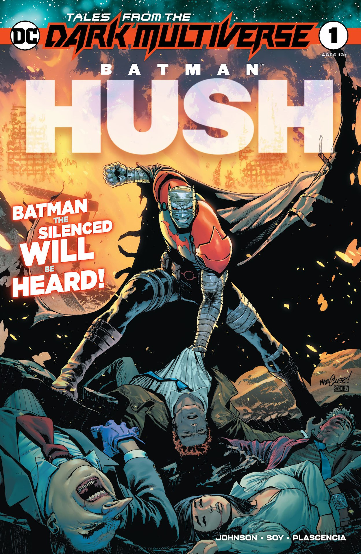 Dark Multiverse: Batman: Hush #1