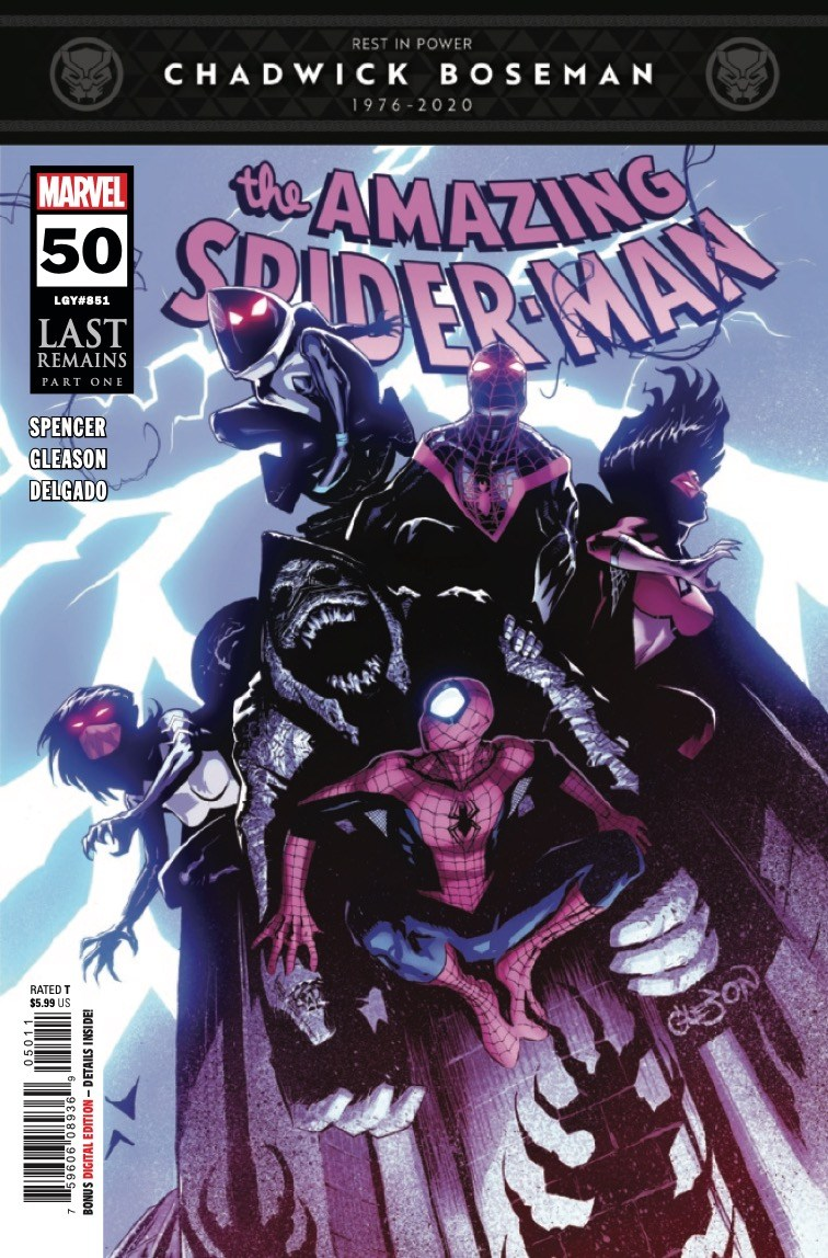 Amazing Spider-Man #50 cover