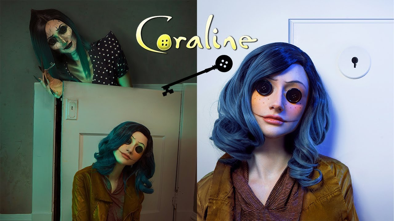 Coraline cosplay by Rebecca Seals