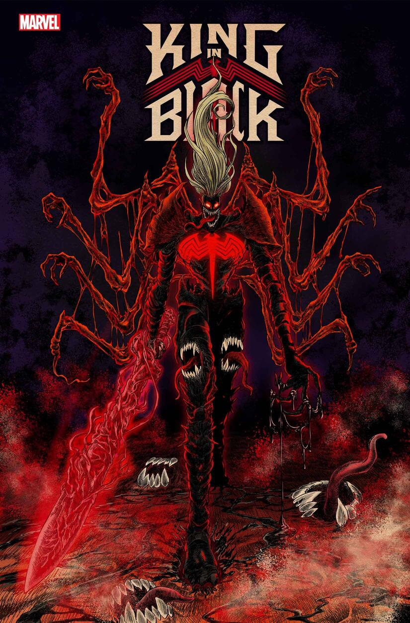KING IN BLACK #1 VARIANT COVER by SUPERLOG