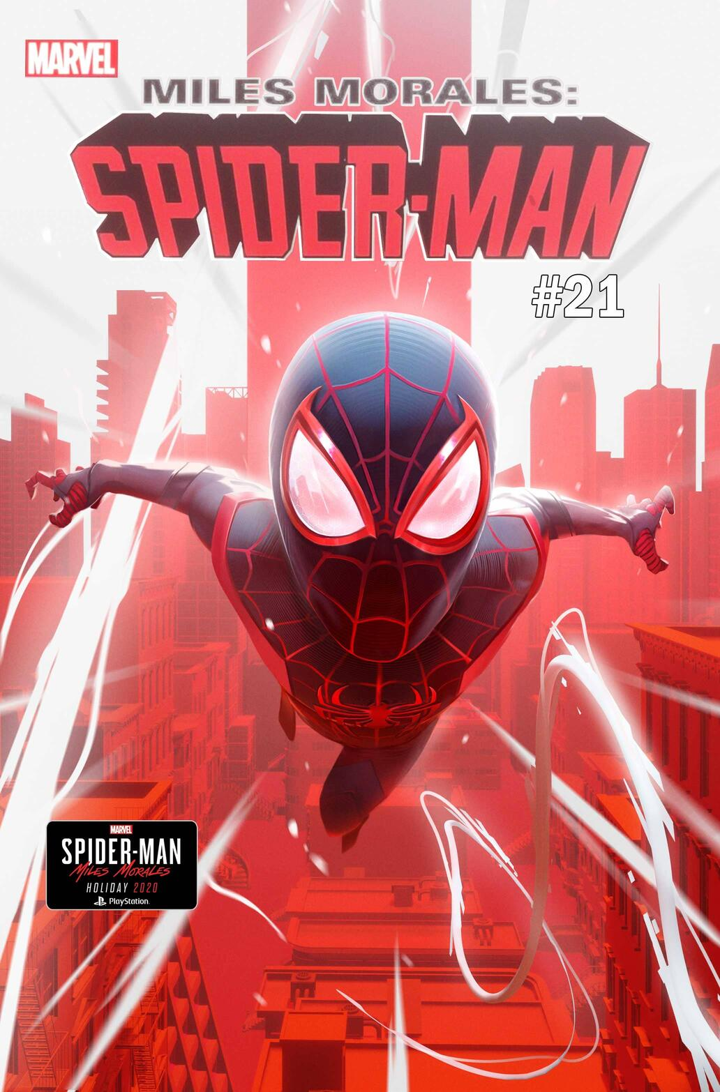 Miles Morales: Spider-Man #21 cover