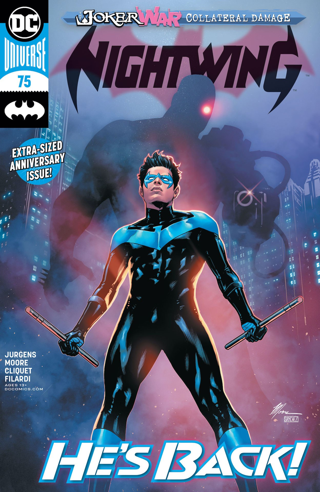 Nightwing #75 preview
