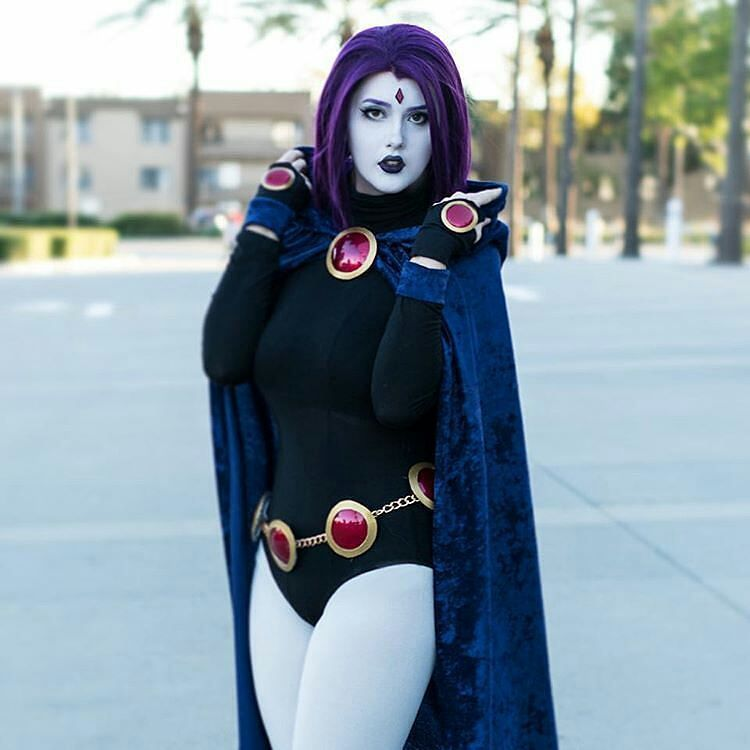 Raven cosplay by Candylion