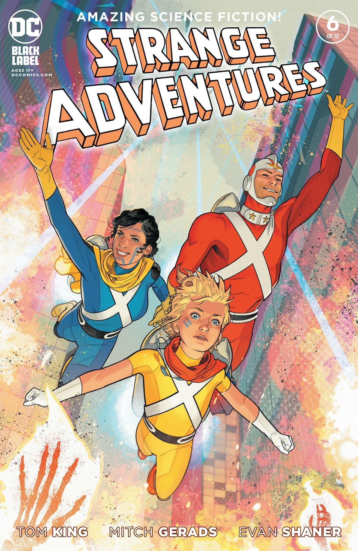 Strange Adventures #6 cover