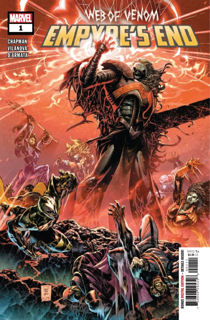 Web of Venom Empyre's End #1