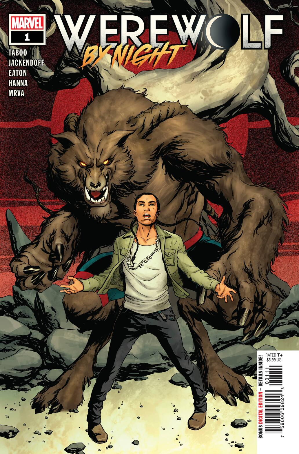 Werewolf by Night #1 preview