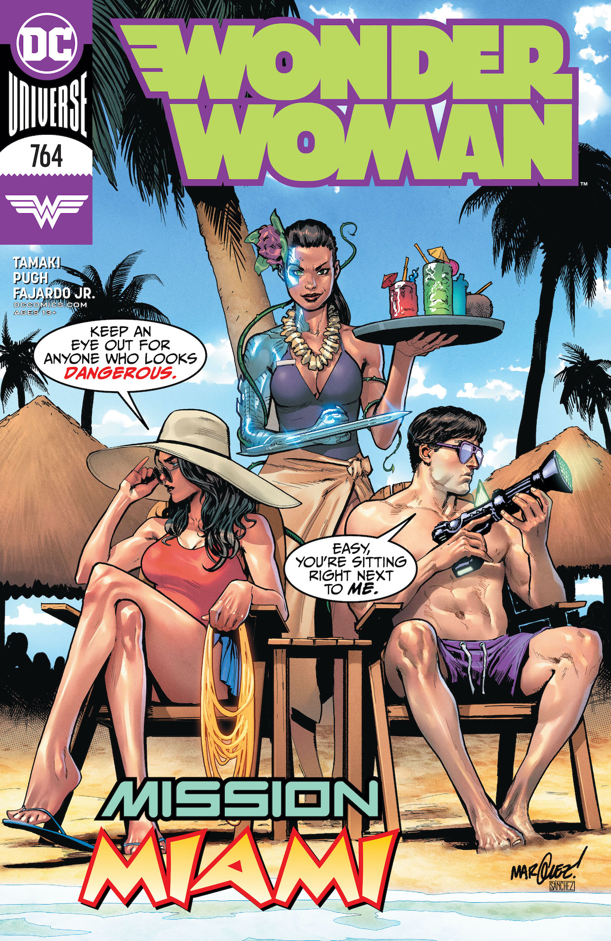 Wonder Woman #764 cover