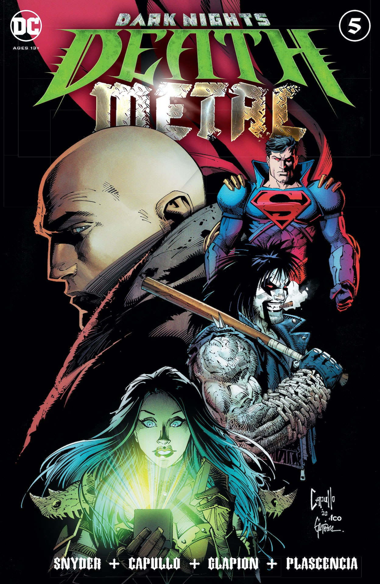Dark Nights: Death Metal #5 preview