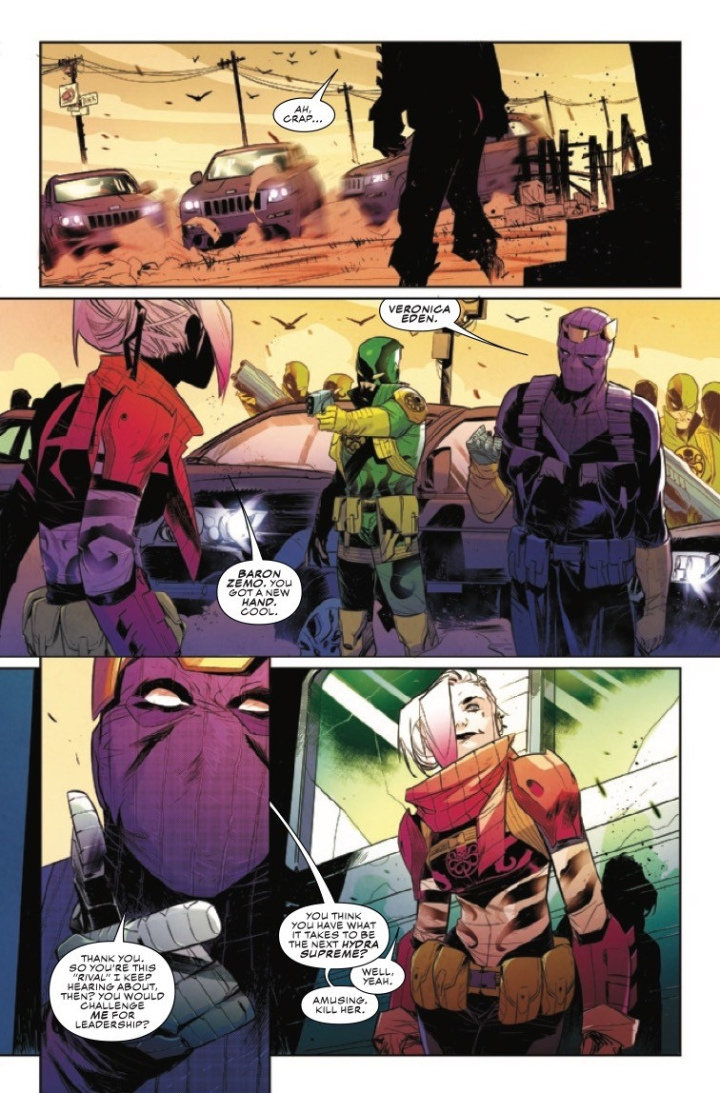 Falcon and Winter Soldier #5 Preview
