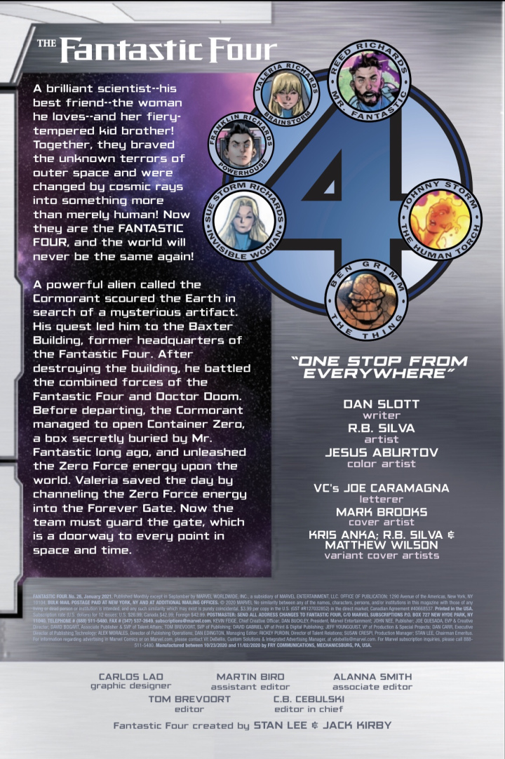 Fantastic Four #26 preview