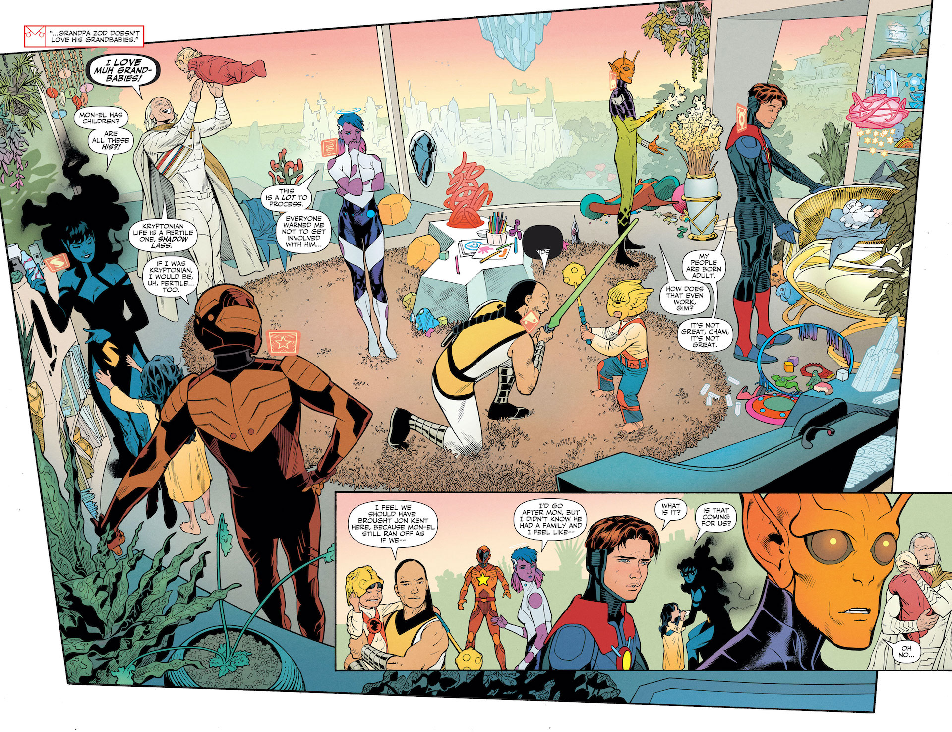 Legion of Super-Heroes #11 preview