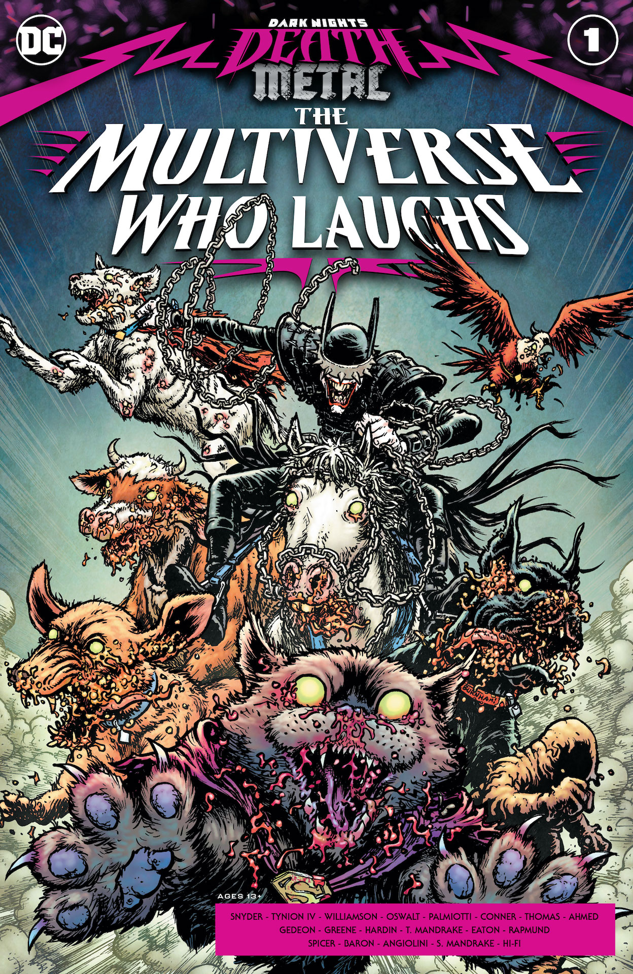 Dark Nights: Death Metal – The Multiverse Who Laughs #1 preview
