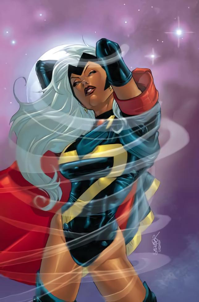 Xtreme X-Men Storm costume by Salvador Larocca