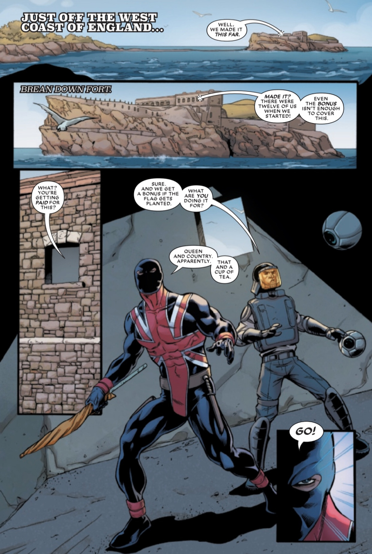 The Union #1 preview