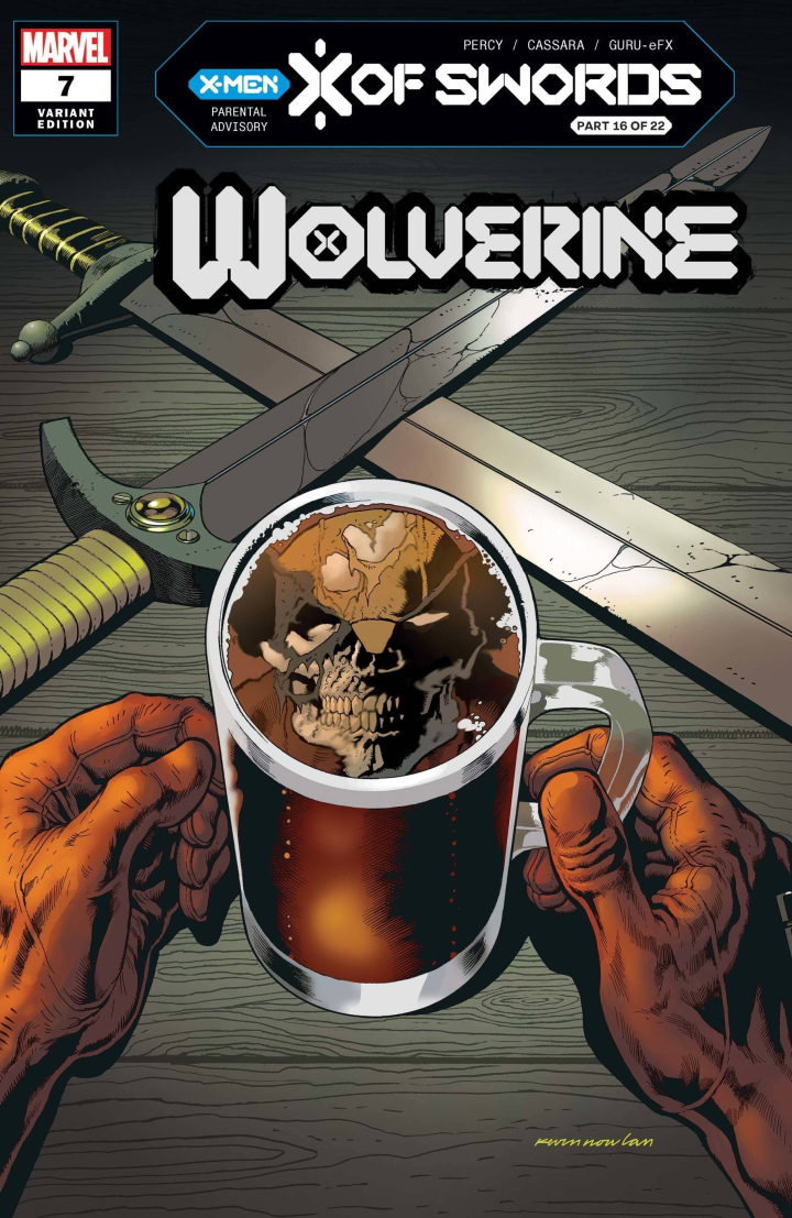 Wolverine #7 preview