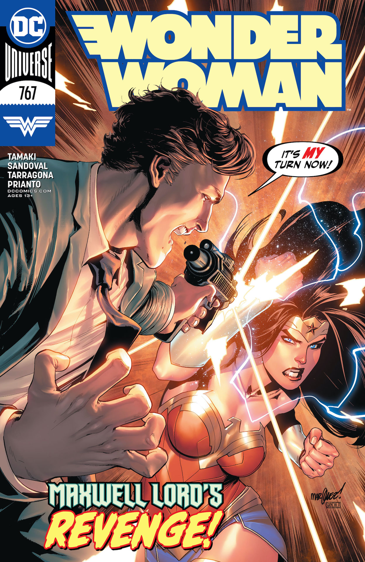 Wonder Woman #767 preview
