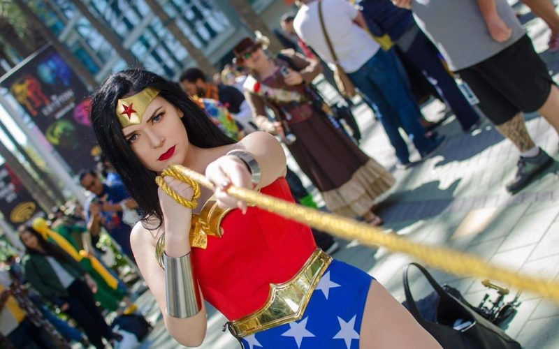 Wonder Woman cosplay by LaLa