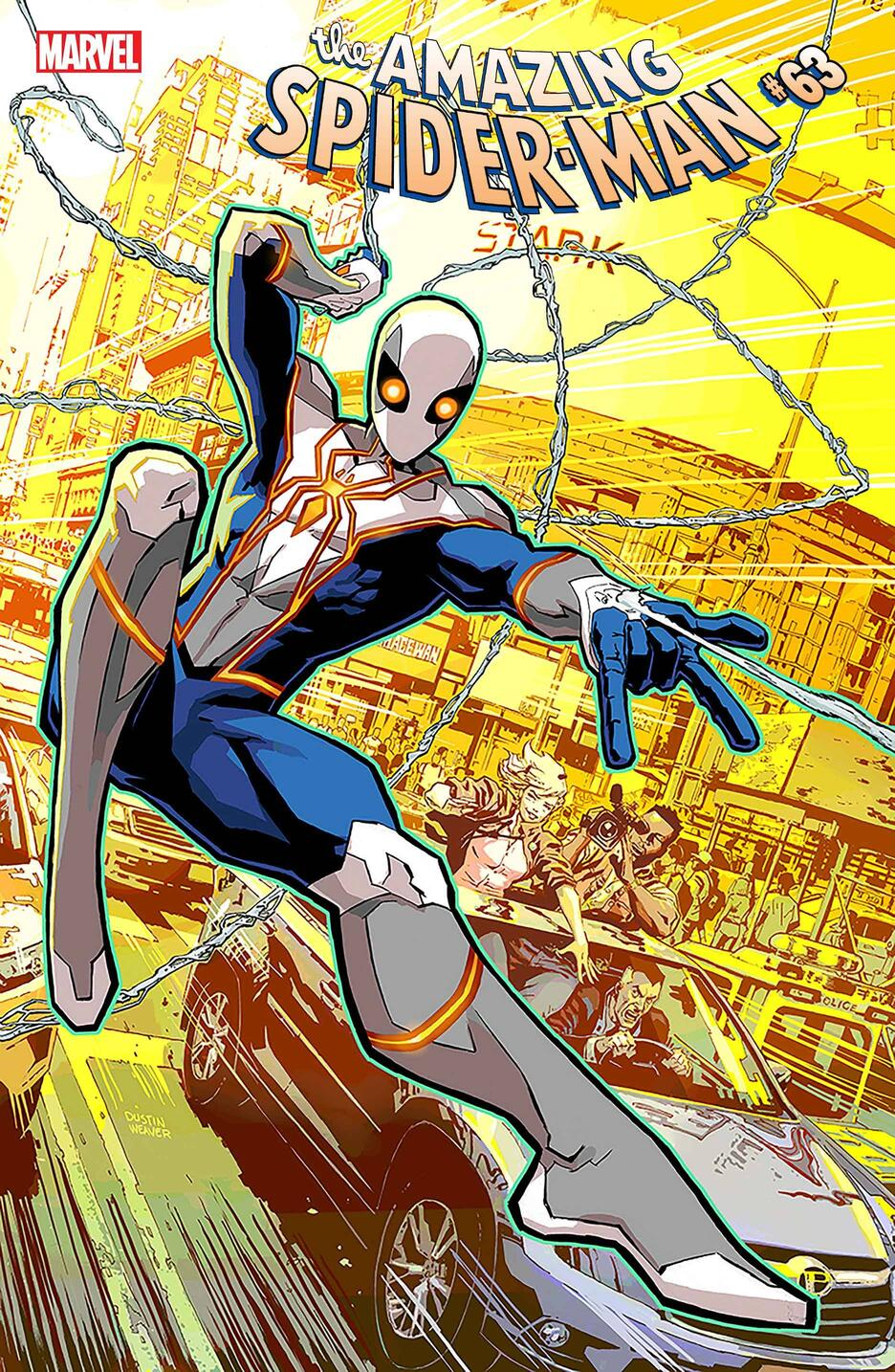 New Spider-Man costume revealed in Amazing Spider-Man #61