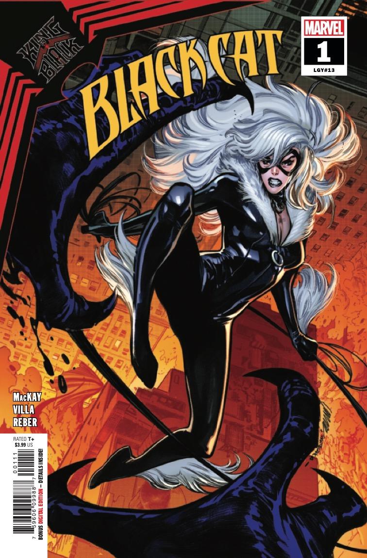 Black Cat #1 preview