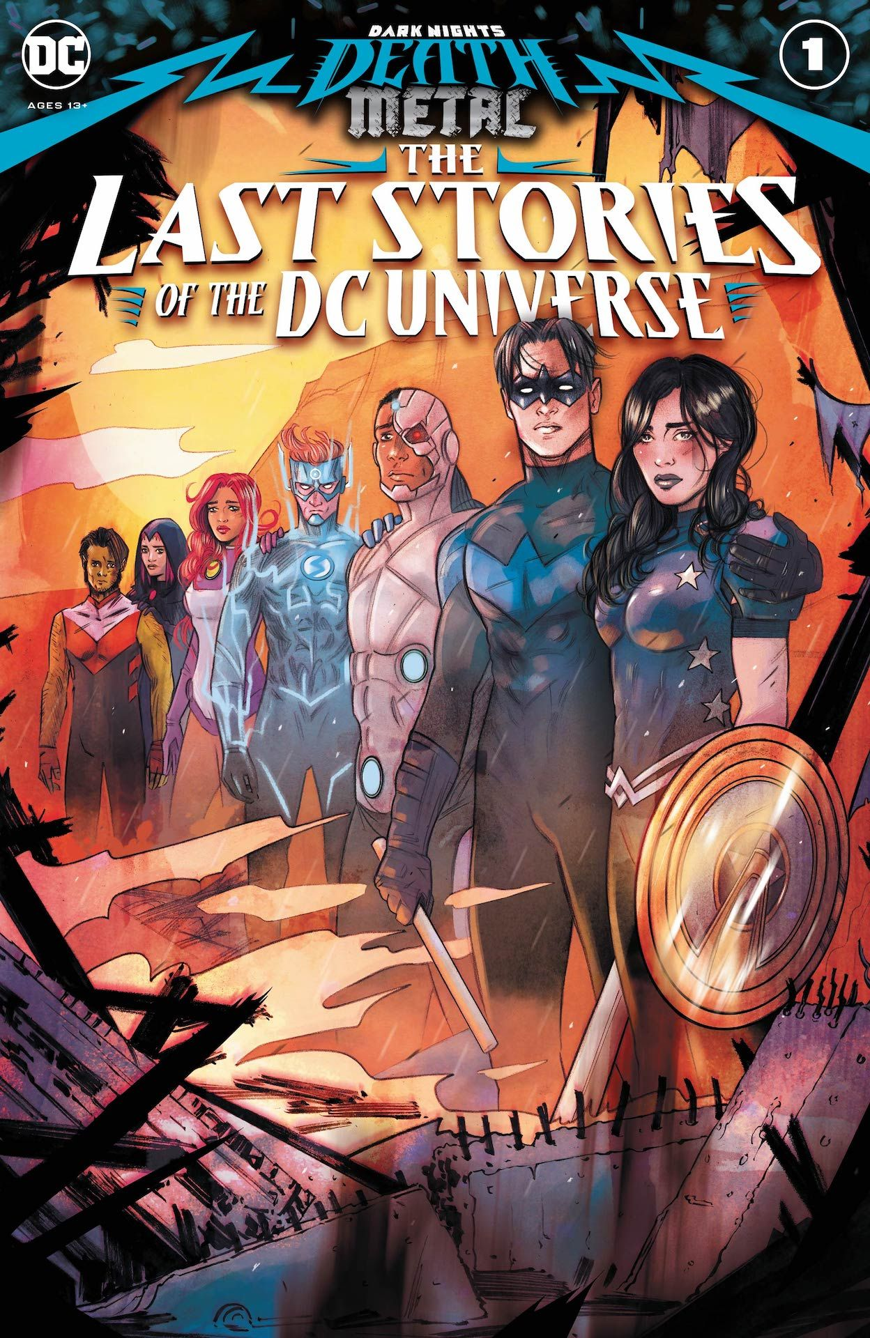 Dark Nights: Death Metal: The Last Stories of the Universe #1 preview