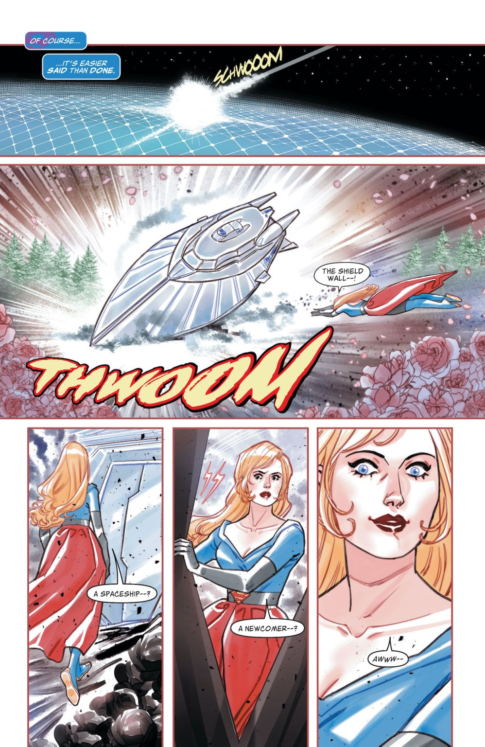 Kara Zor-El, Superwoman #1 preview