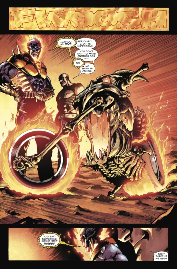 Ghost Rider: Return of Vengeance #1 preview