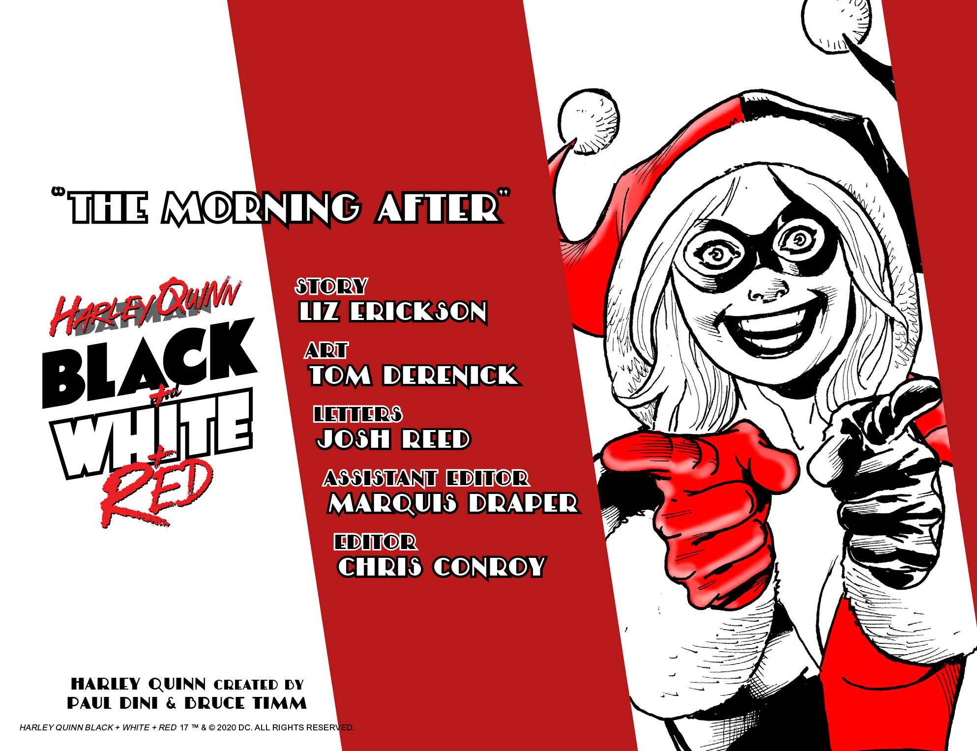 Harley Quinn Black + White + Red #17 preview