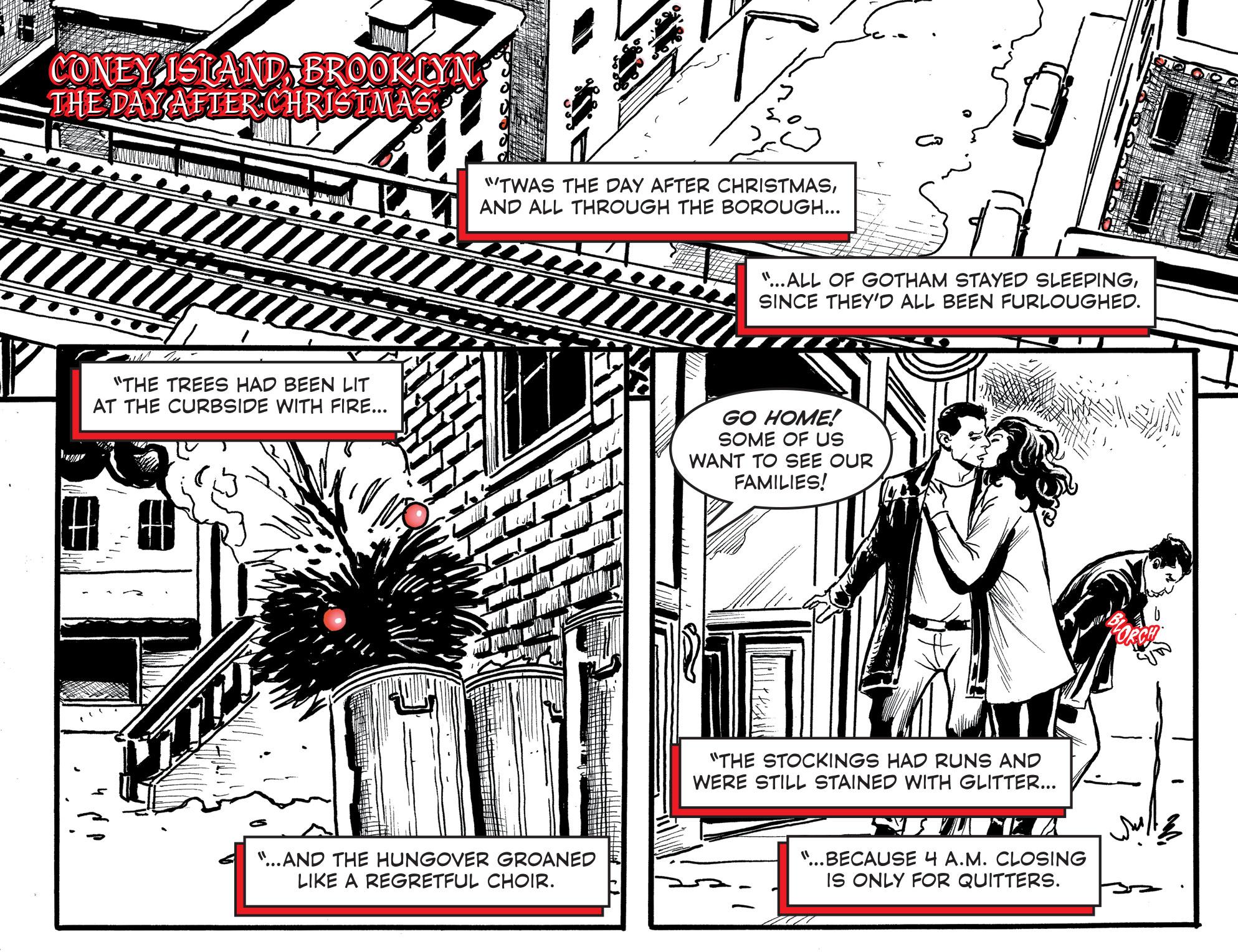 Harley Quinn Black + White + Red #17 preview
