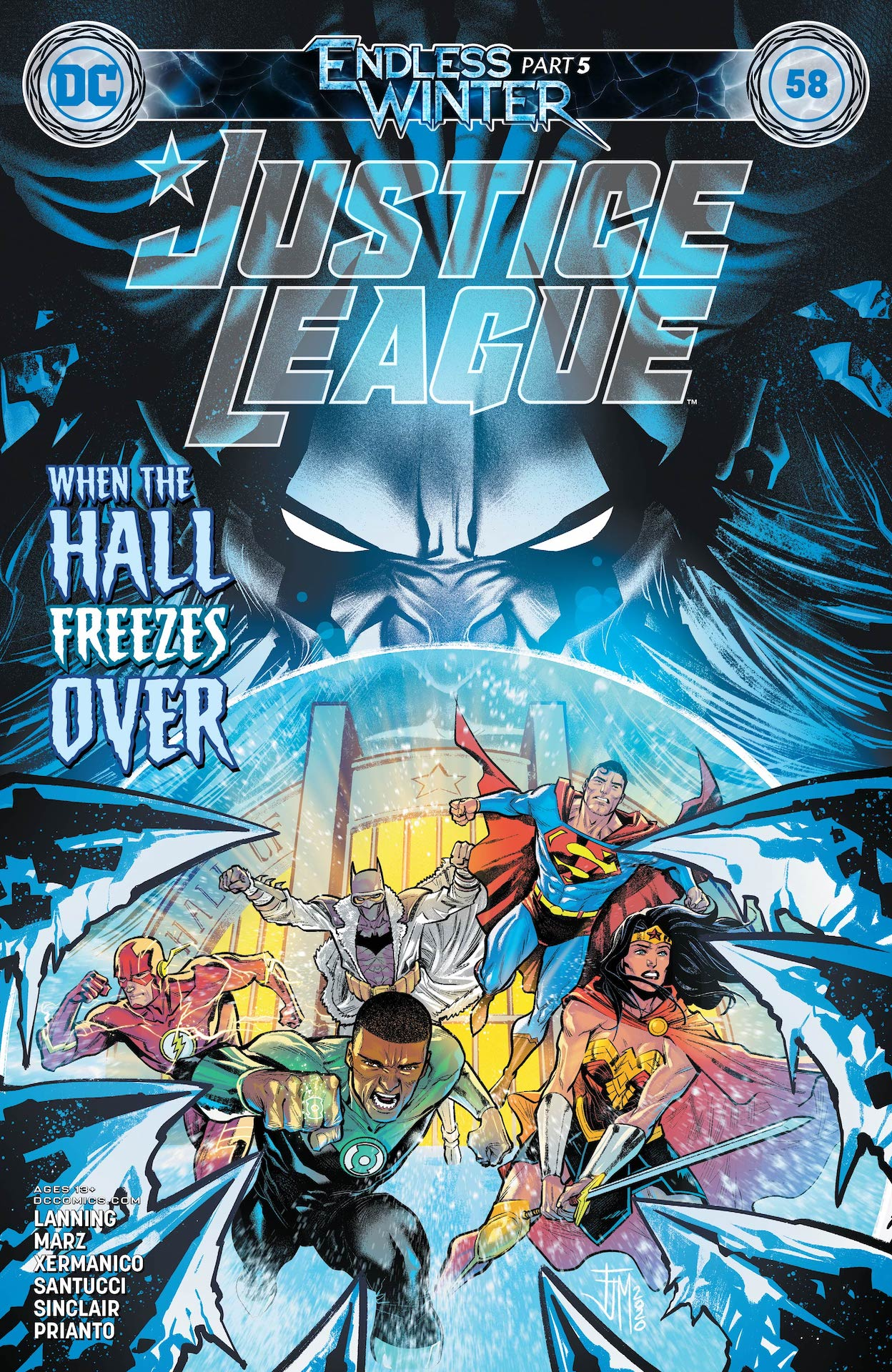 Justice League #58 preview