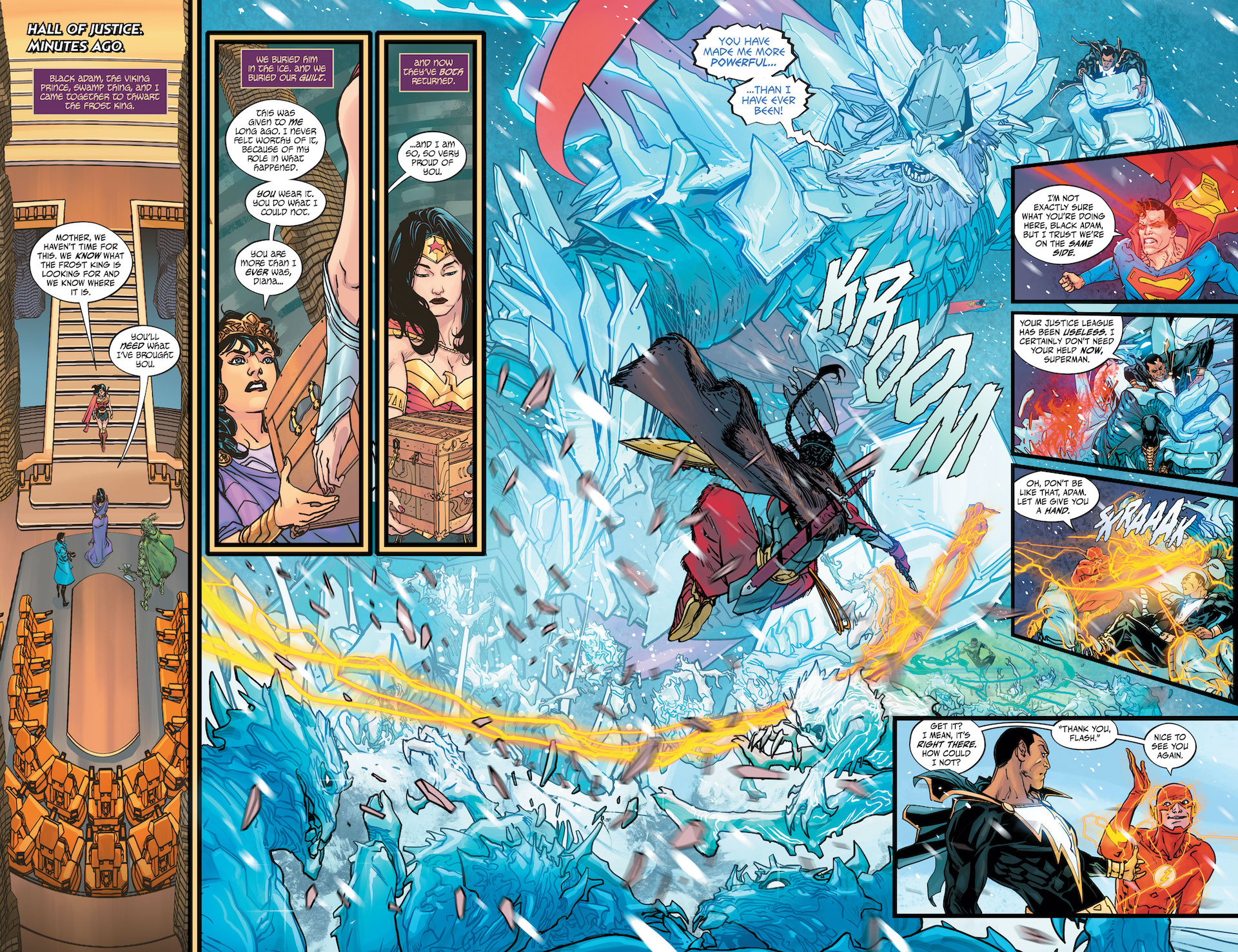 Justice League: Endless Winter #2 preview