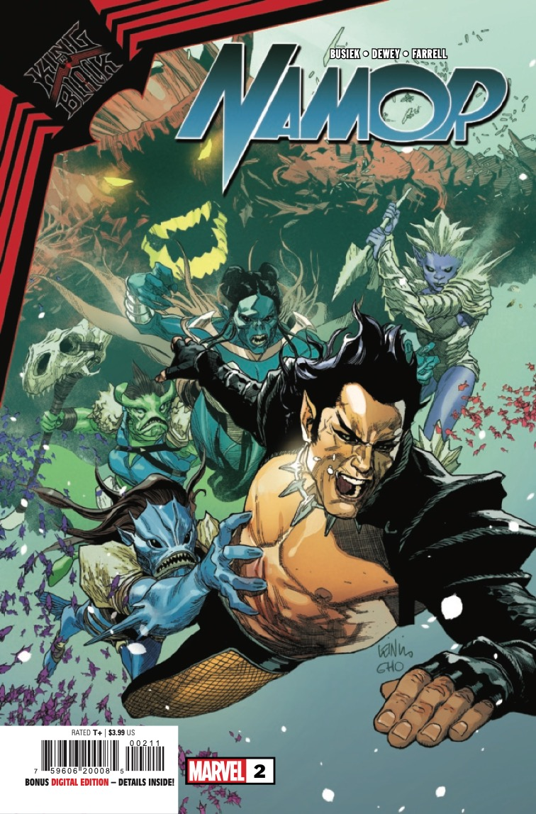 King in Black: Namor #2 preview