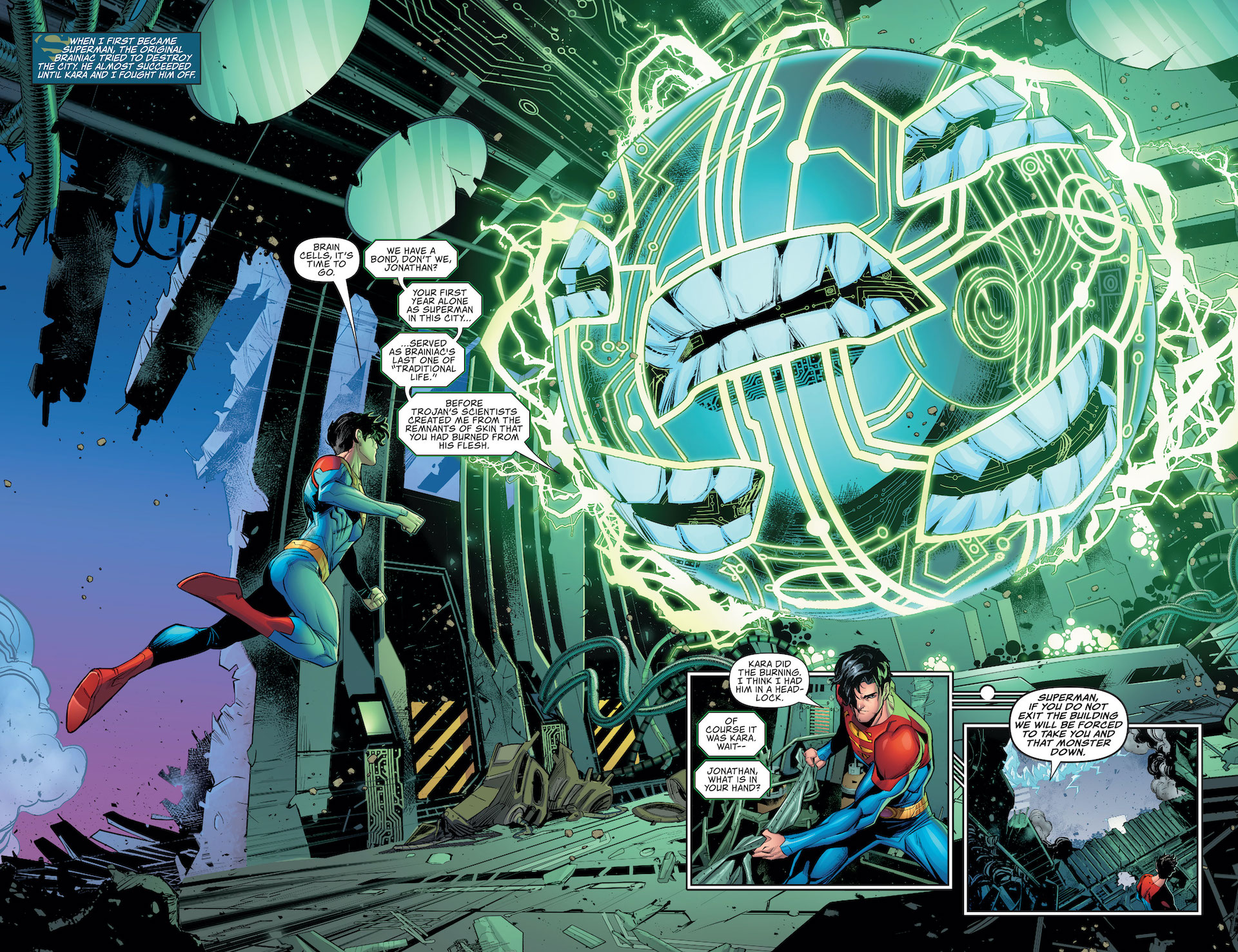 Future State: Superman of Metropolis #1 preview