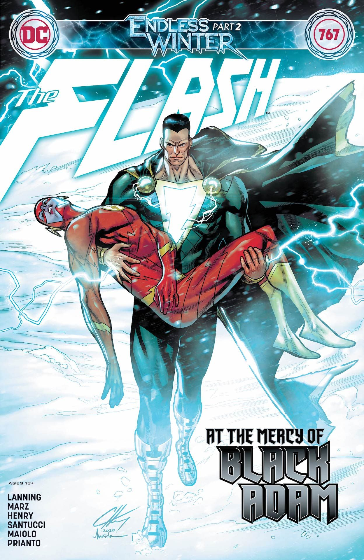 The Flash #767 preview