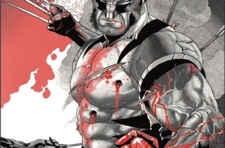 Wolverine: Black, White & Red #2 preview