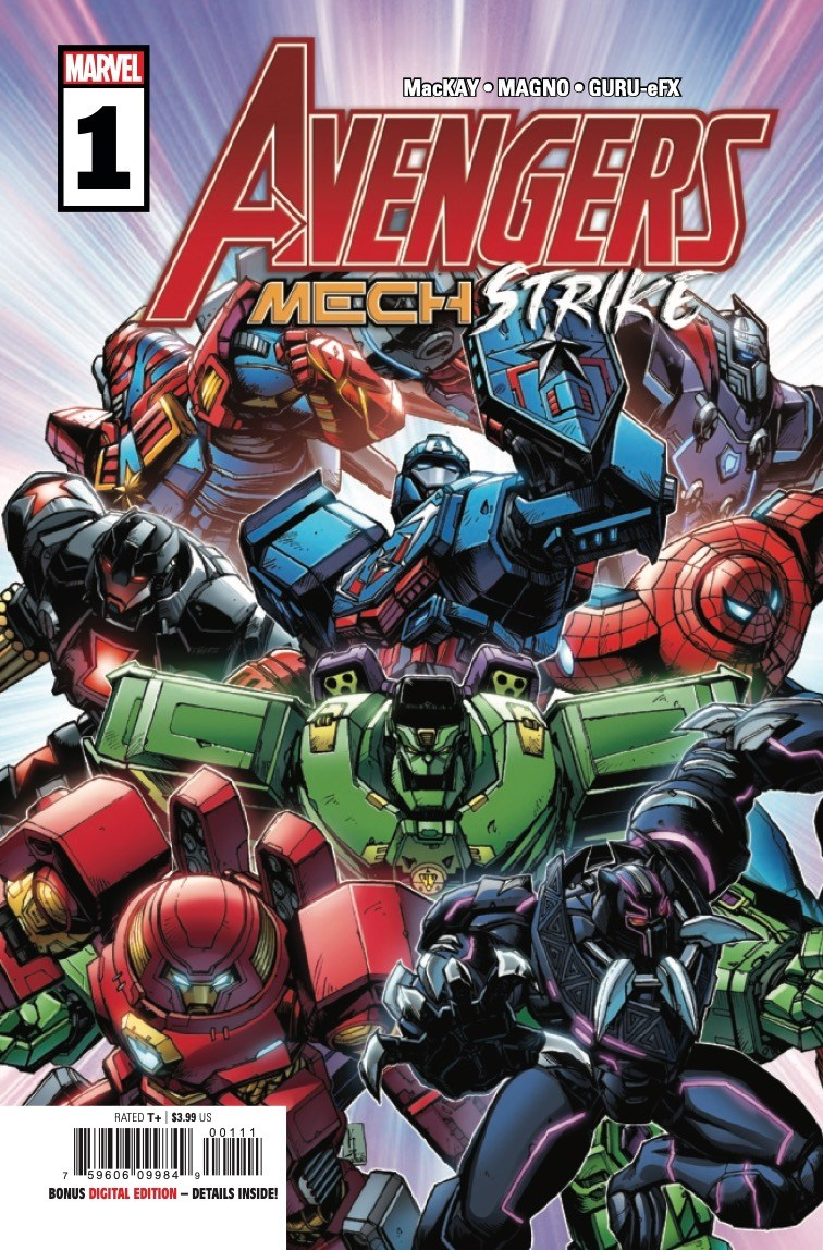 Avengers Mech Strike #1 preview