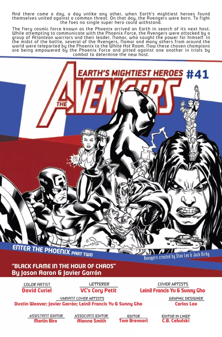 Avengers #41 preview