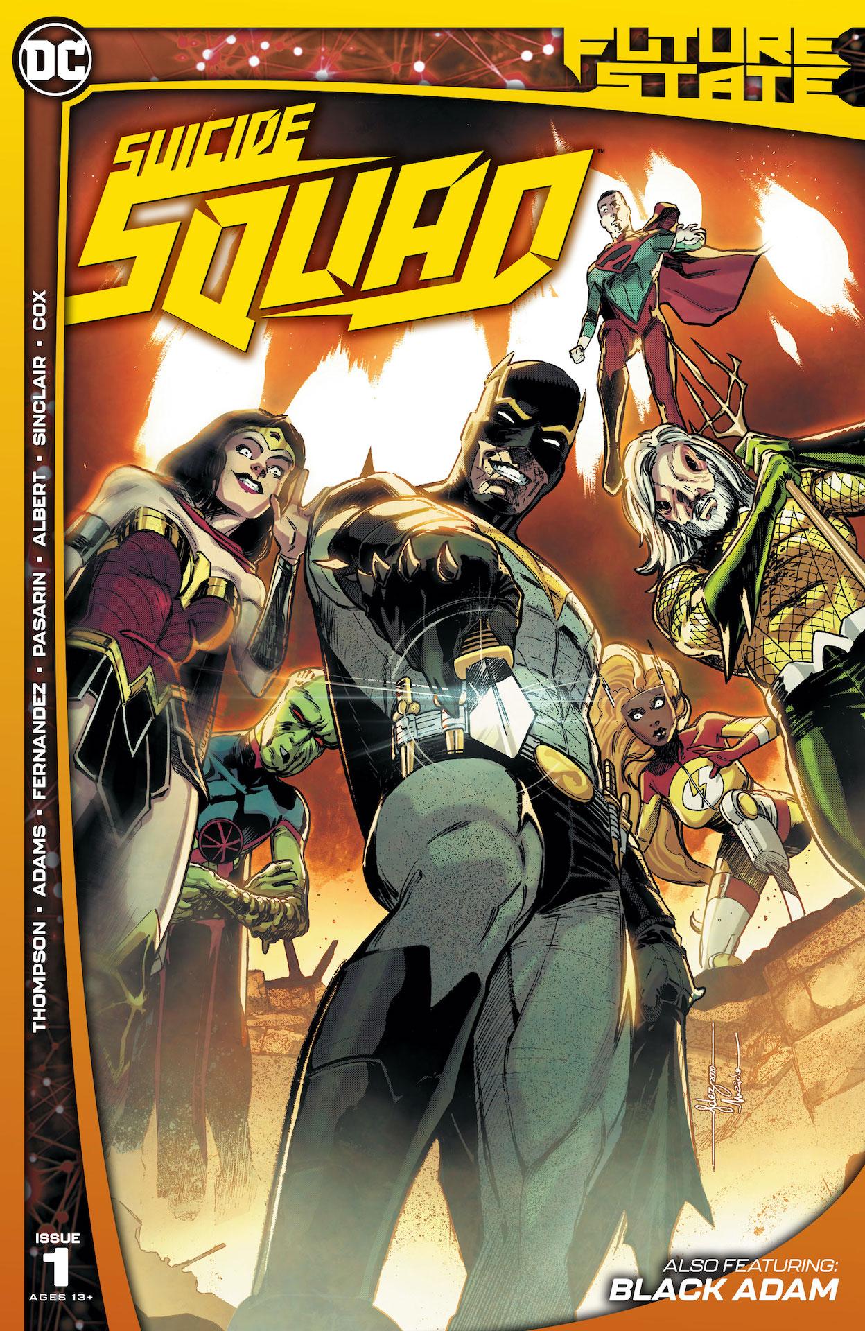 Future State: Suicide Squad #1 preview