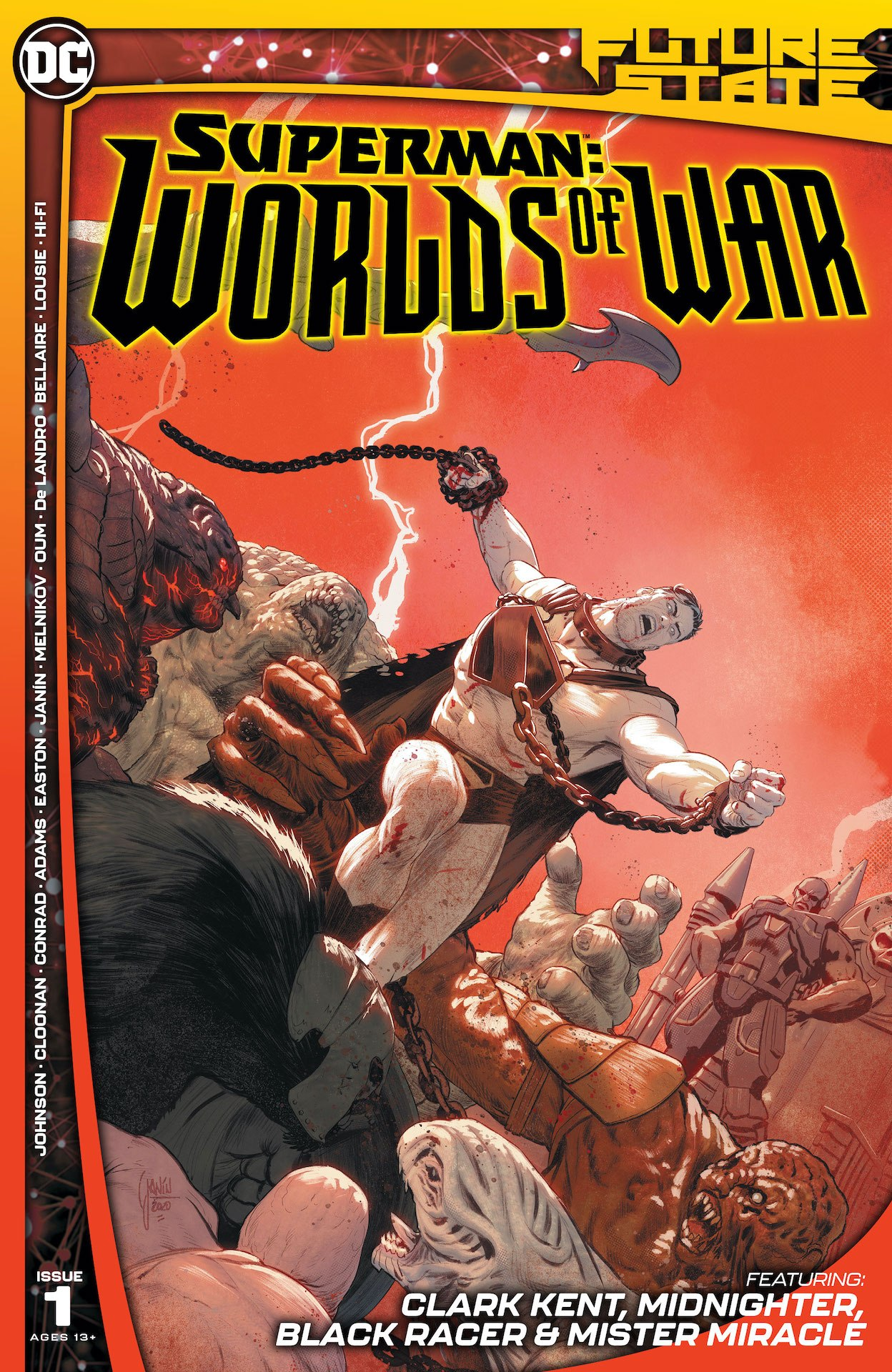 Future State: Superman: Worlds of War #1 preview