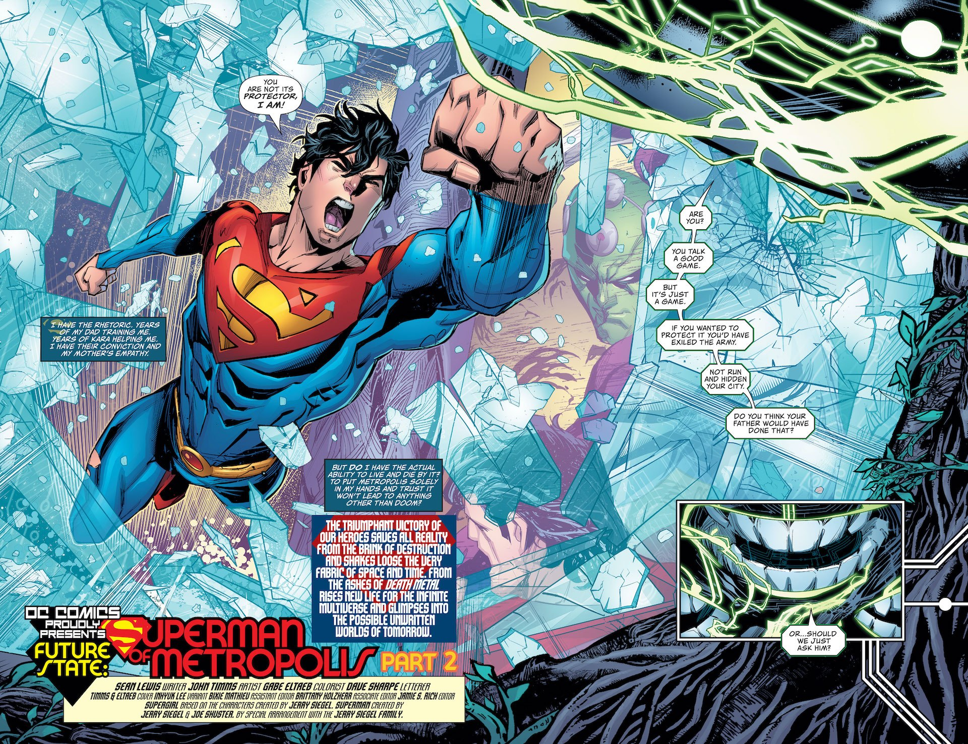 Future State: Superman of Metropolis #2 preview