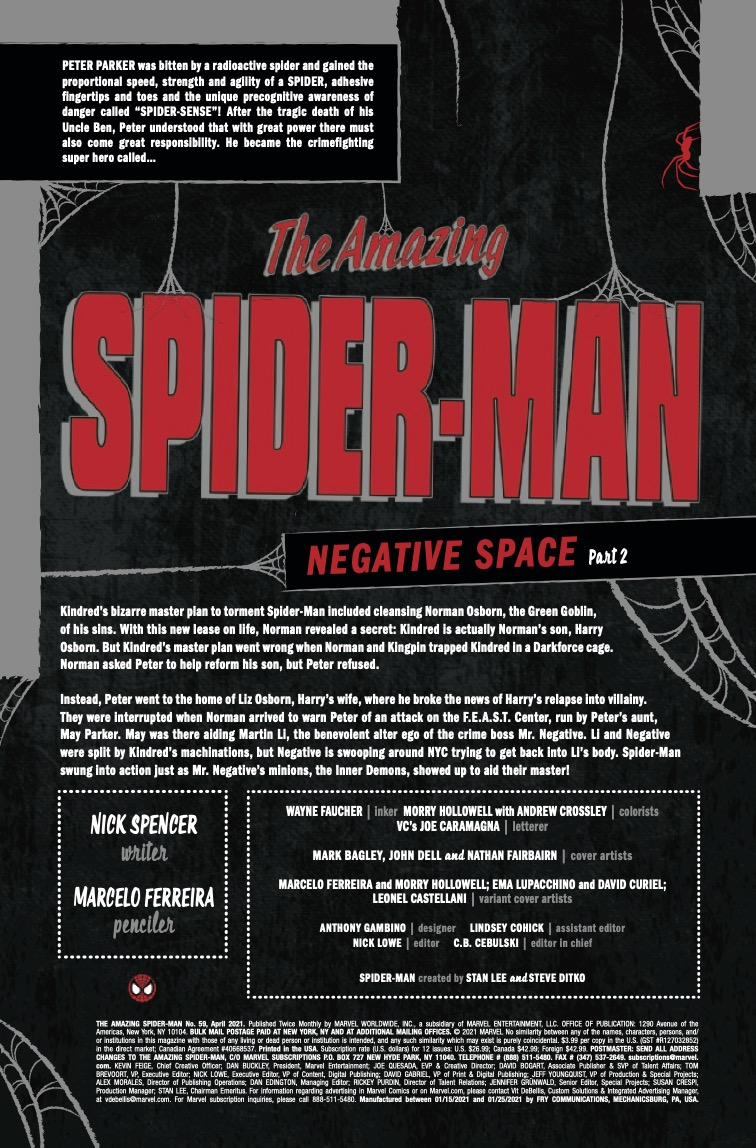 Amazing Spider-Man #59 preview