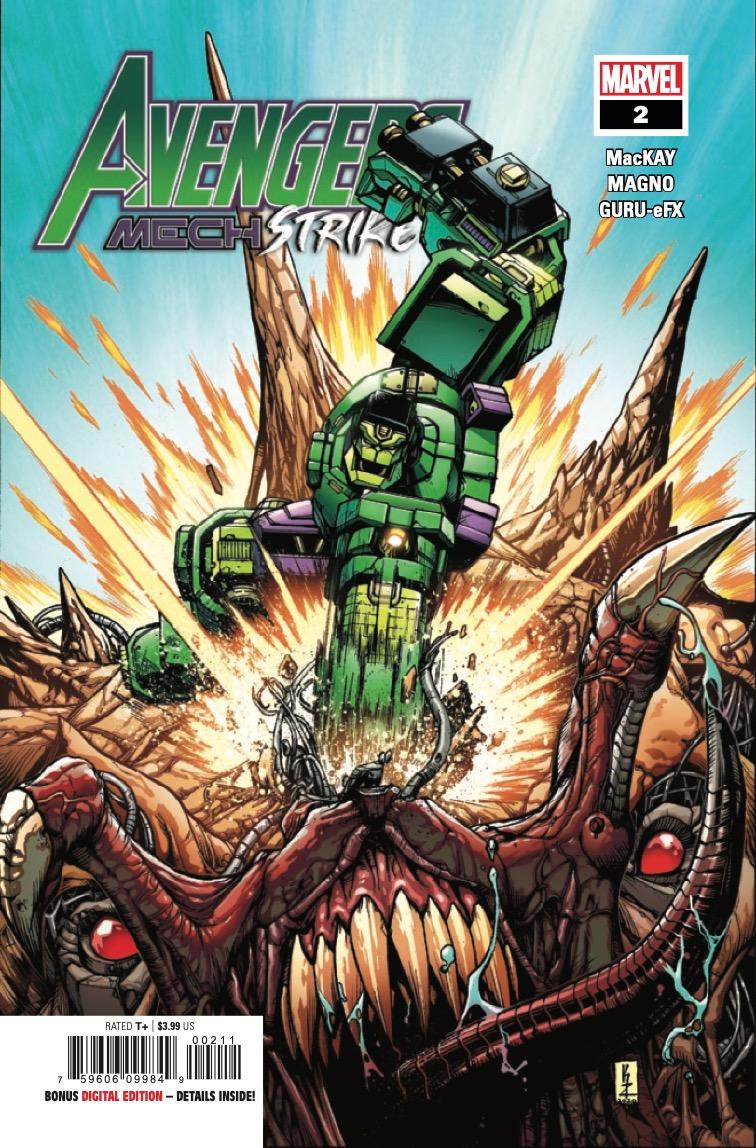 Avengers: Mech Strike #2 preview