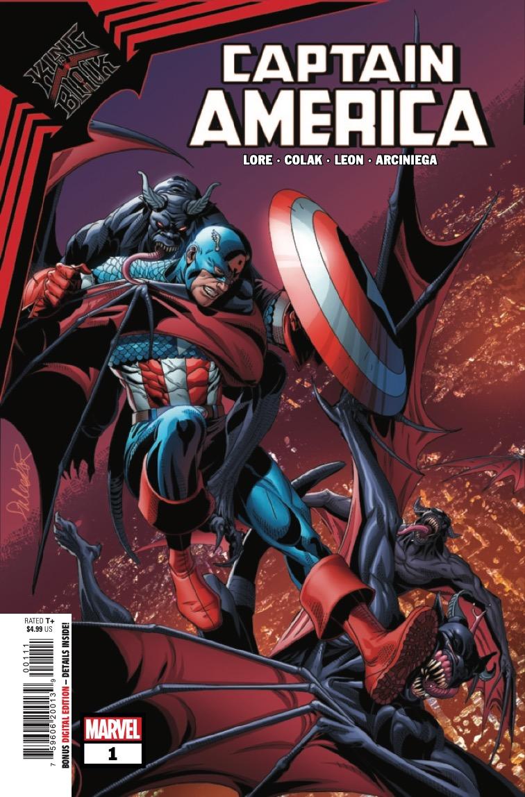 King in Black: Captain America #1 preview