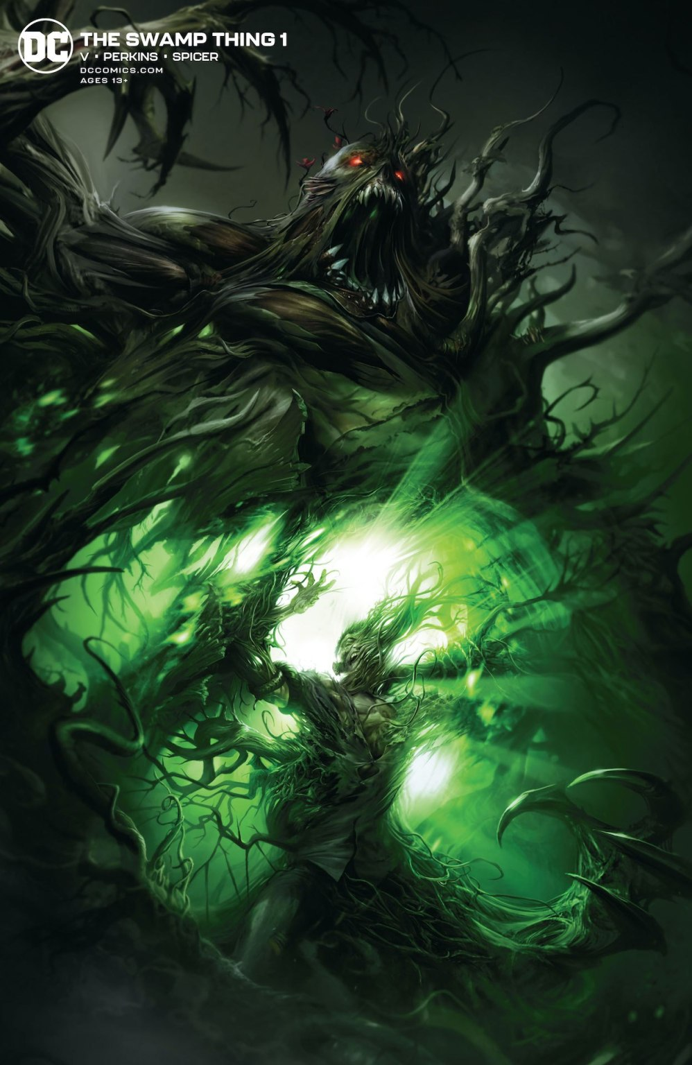 The Swamp Thing #1 preview