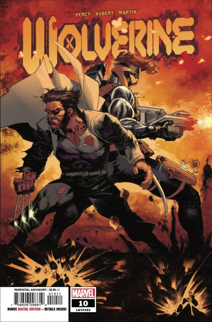 Wolverine #10 preview