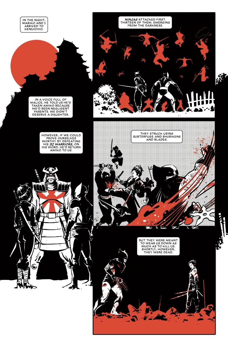 Wolverine: Black, White and Blood #3 preview