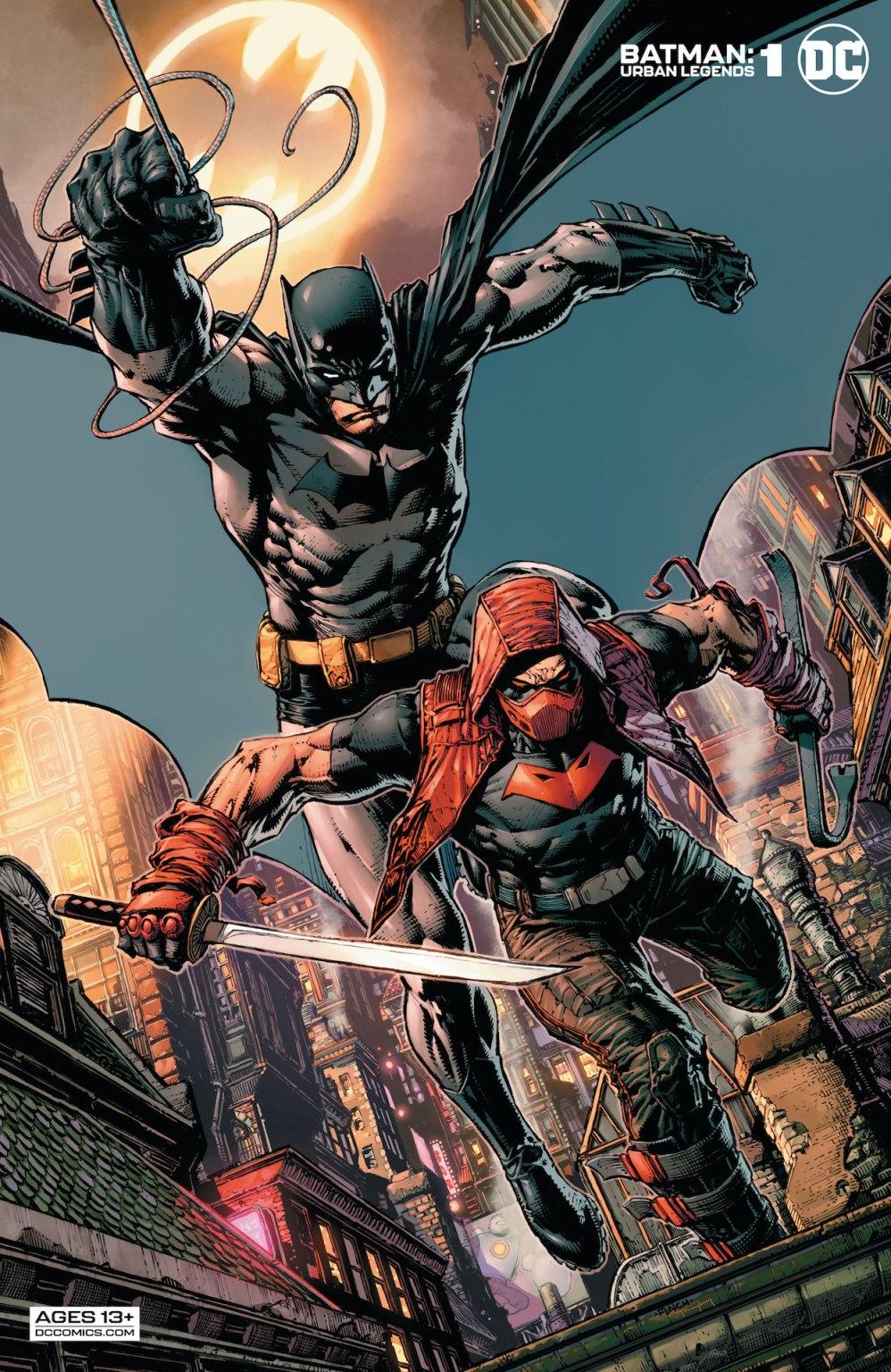 Batman: Urban Legends #1 preview