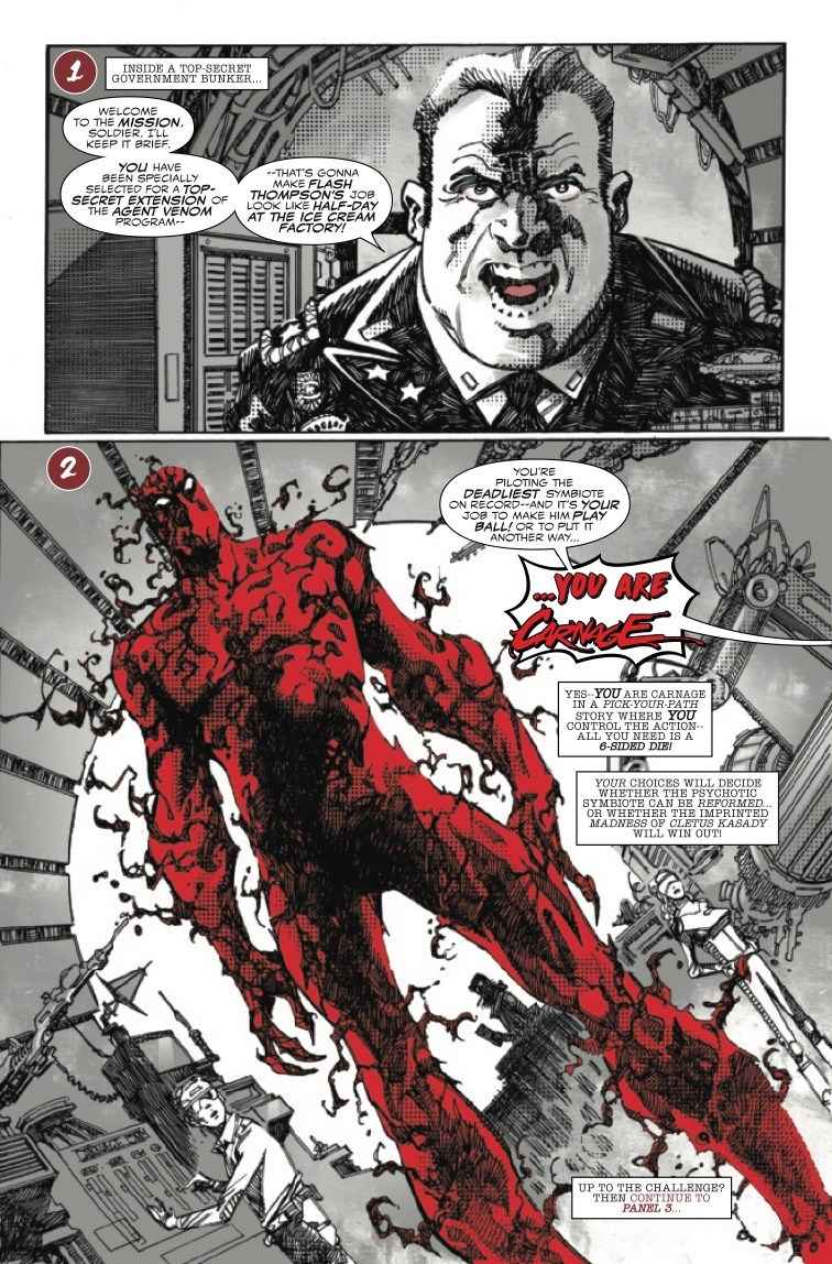 Carnage; Black, White and Blood #1 preview