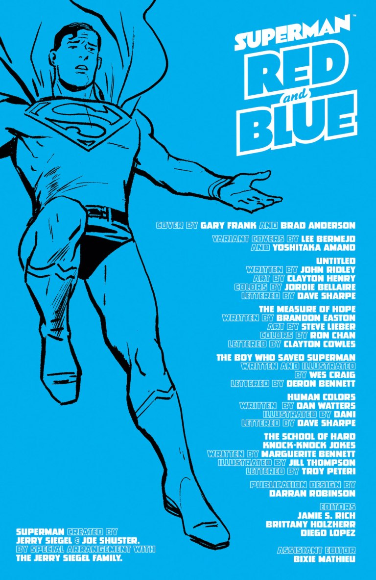 Superman: Red and Blue #1 preview