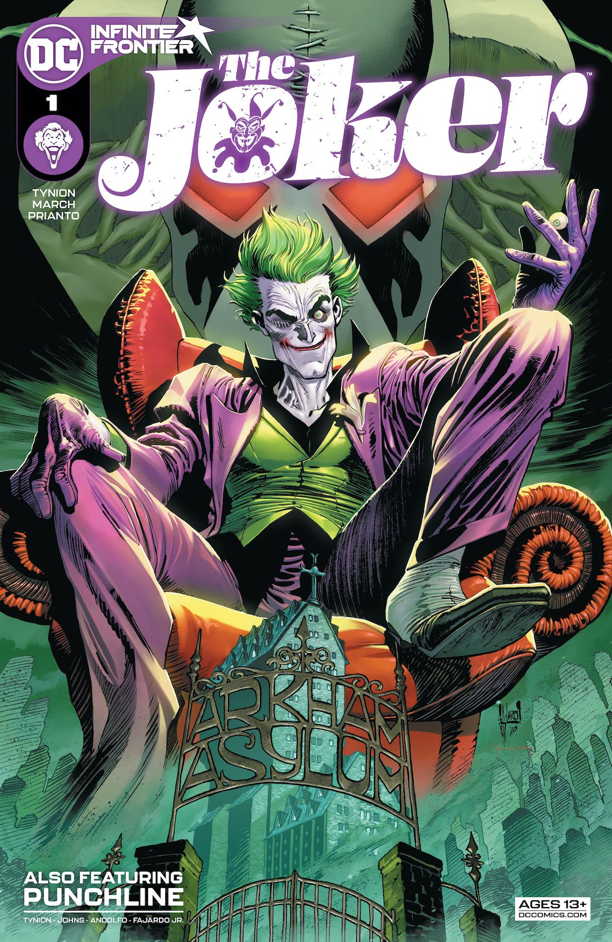 The Joker #1 preview