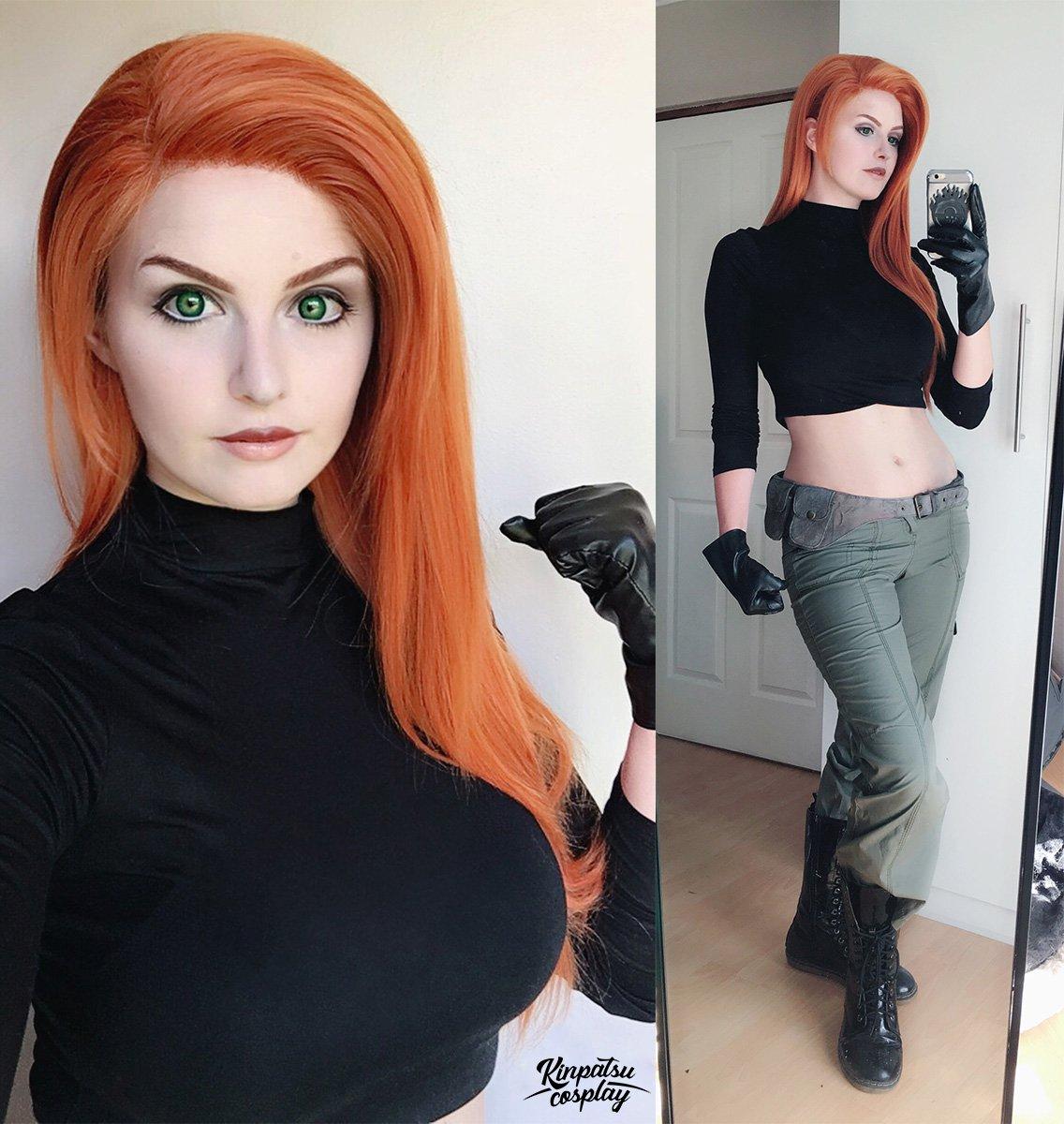 Kim Possible cosplay by Kinpatsu